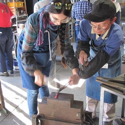 Colored Carp and Blacksmithery: Come into Contact with Traditional Industries of Japan